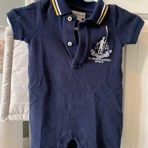 Polo Ralph Lauren Baby Romper   Size: 3 month